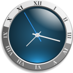 Timetable clock